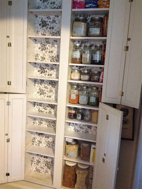 between the studs storage cabinet space saving pantry 2 cans deep and 4 across set in