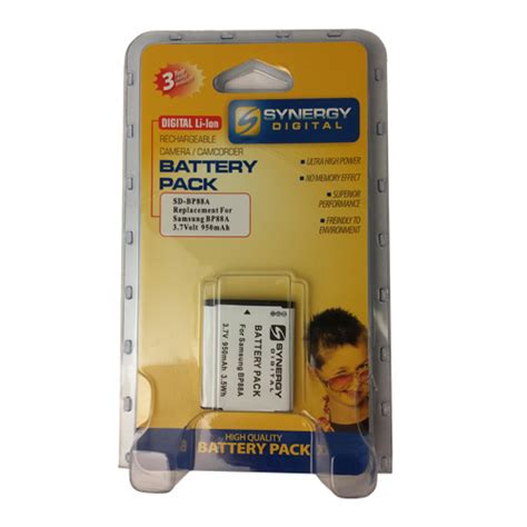 Battery Samsung Bp 88a Surabaya sdbp88a lithium ion rechargeable battery ultra high capacity 3 7v 950 mah replacement for