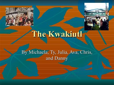 where did indians get the kwakiutl
