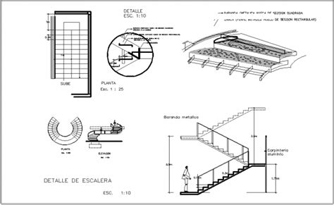 staircase section dwg file semi spiral stair section and elevation view dwg files