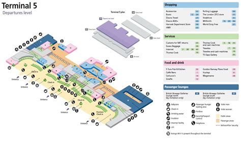 Heathrow Terminal 5 Floor Plan | heathrow airport map terminal 5 map design pinterest