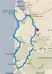 cape meares oregon map brian and sue on the road the oregon coast