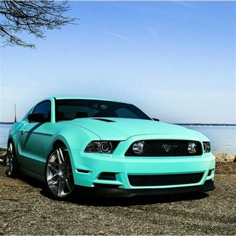 tiffany blue mustang tiffany blue mustang in love love pinterest
