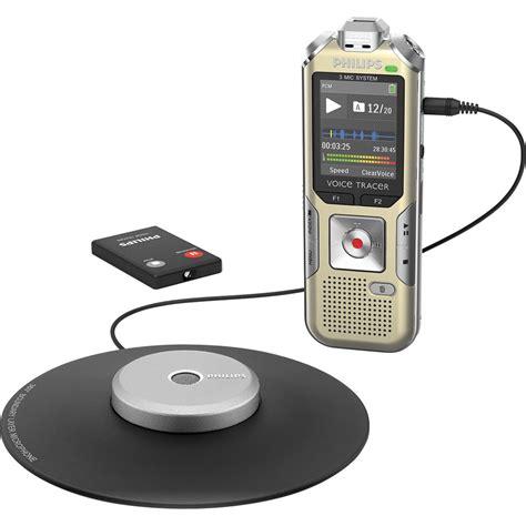 Audio Rekaman Philips Dvt 1150 4gb Free Microsd 16 Gb philips dvt8000 voice tracer meeting recorder dvt8000 00 b h