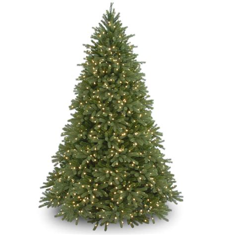 best real christmas trees in south jersey national tree company 7 5 ft feel real 174 jersey fraser fir tree with clear lights