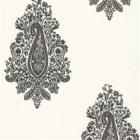 Wallpaper Sticker Motif Minimalis Black Square 450 67338 black paisley dynasty beacon house wallpaper