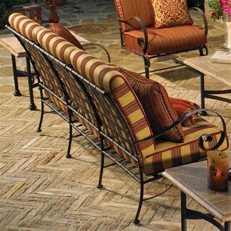 wrought iron outdoor sofa classico wrought iron outdoor sofa outdoor sofas