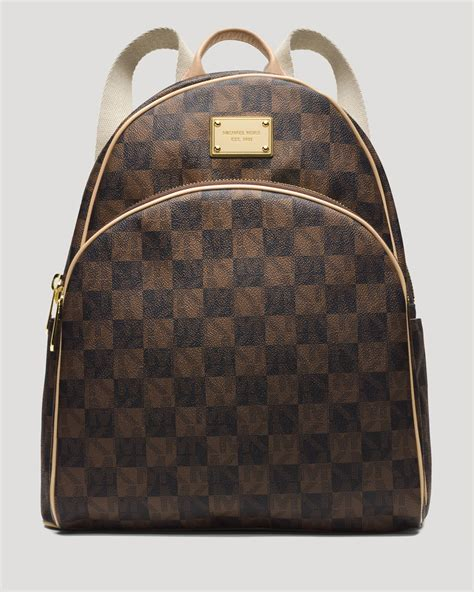 Bag Item michael michael kors backpack jet set item checkerboard