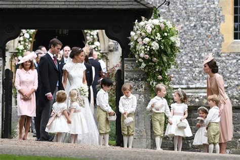 pippa wedding english wedding pippa middleton marries as royals look on