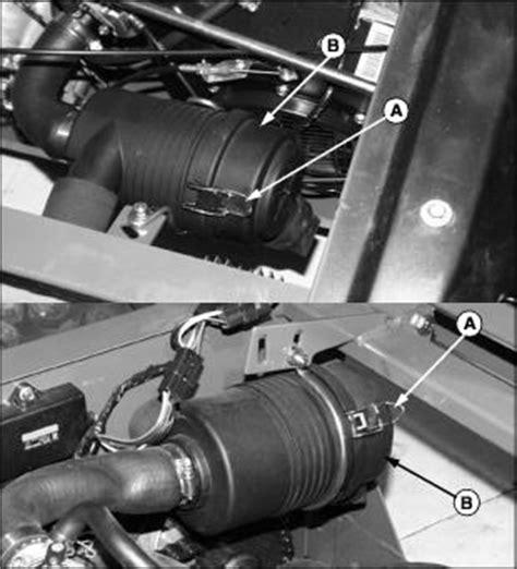 deere gator cooling fan sensor service engine