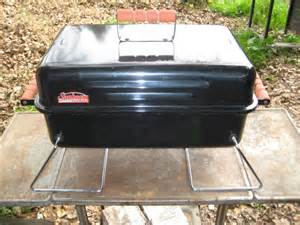 Sunbeam Patio Master Grill by Newish Portable Gasser Not Weber