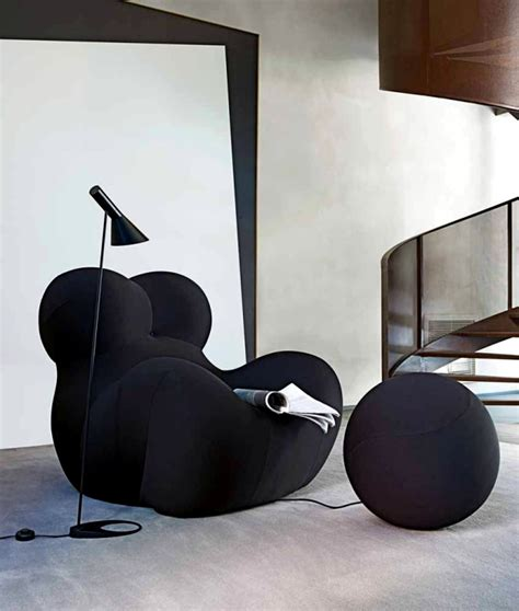 poltrona up5 the iconic chair with ottoman for relaxing up5 b b