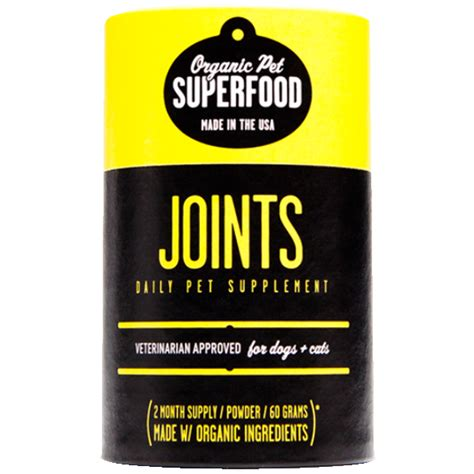 joint supplement for dogs organic pet superfood joint supplement for dogs naturalpetwarehouse