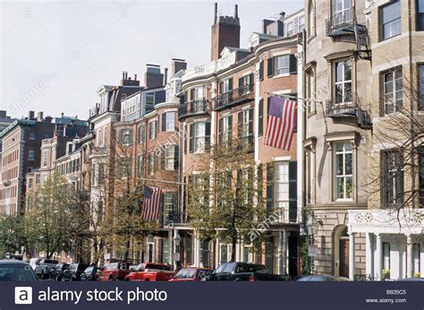 buy house in boston ma boston ma usa houses on beacon street facing boston common stock photo royalty