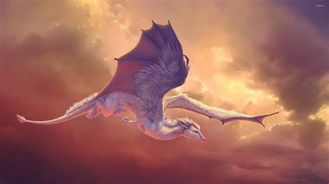 wallpaper cute dragon cute baby dragon flying wallpaper fantasy wallpapers