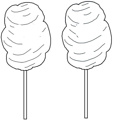 Cotton Candy Coloring Pages Coloring Home Cotton Coloring Pages