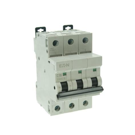 Sisir Mcb 1 Phase mem 16 c type three phase mcb at uk electrical supplies