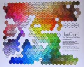 hex color chart cullen ary creations color throwdown