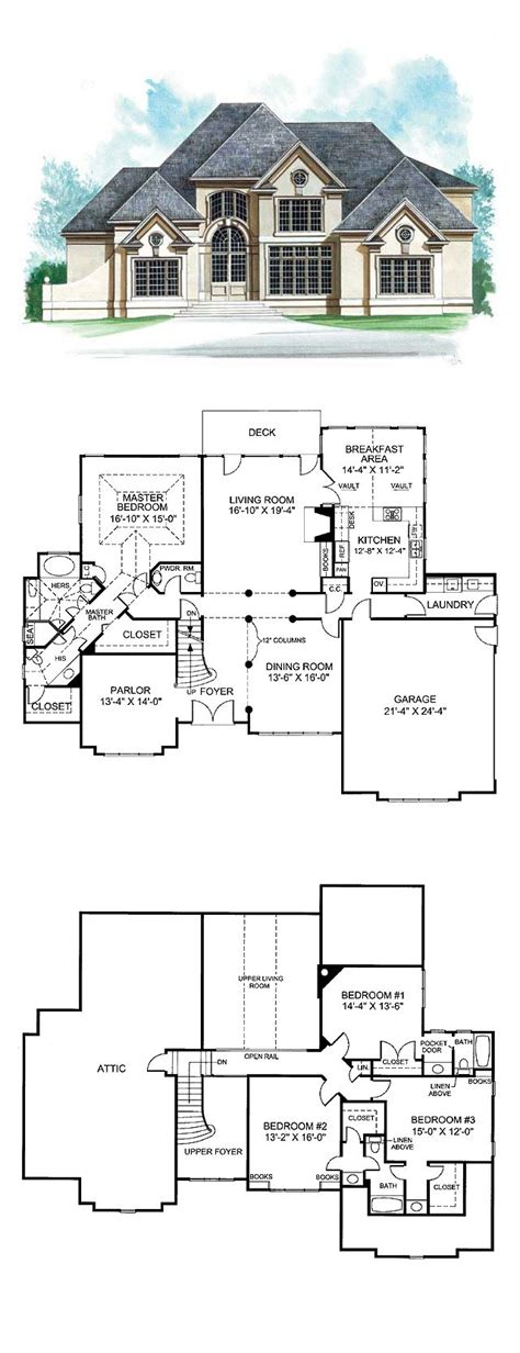 revival house plan small best plans