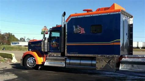 kenworth trailers custom kenworth w900 condo trailer