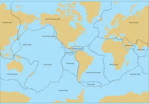 tectonic map of america tectonic plates map vector free vector