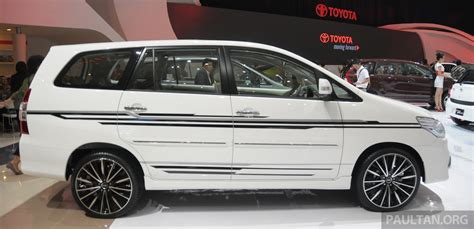 Home Design For Story Gallery 2013 Toyota Innova Facelift On Show At Iims Image