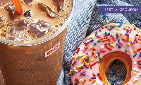 10 dunkin donuts egift card for 5 at groupon targeted frequent miler - Dunkin Donuts E Gift Card