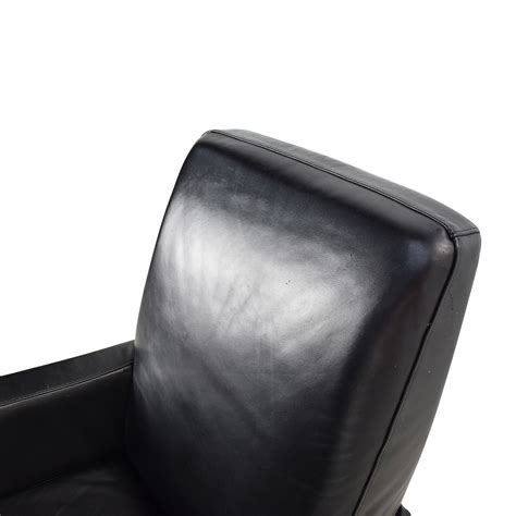 black leather chair with ottoman black leather chair with ottoman leather lounge chair
