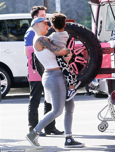bed bath beyond her amber rose cuddles up to her son sebastian at bed bath