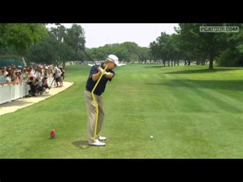 david toms golf swing david toms swingvision from crowne plaza invitational
