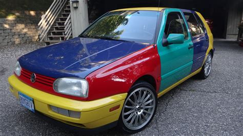 1996 Volkswagen Golf Harlequin German Cars For Sale Blog