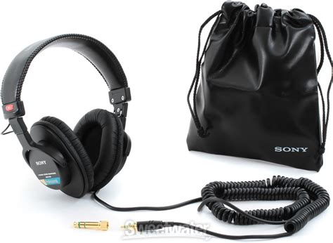 Headphone Sony Mdr 7506 sony mdr 7506 closed back studio headphones sweetwater