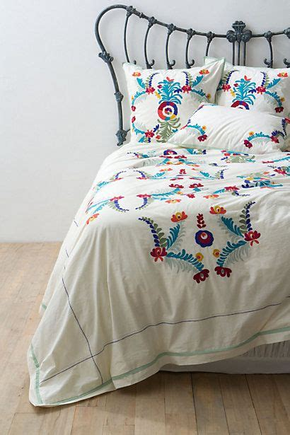 mexican embroidered bedding 25 best ideas about embroidered bedding on pinterest