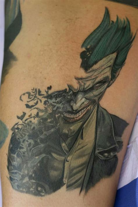 tattoo everett wa joker jeromy sawdon at monsters in ink