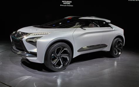 mitsubishi evolution concept mitsubishi e evolution concept electric suv for