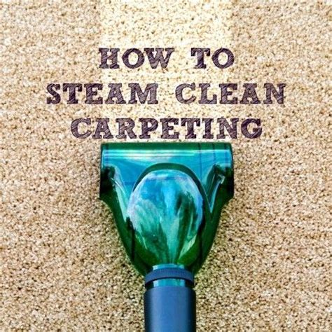 How Often To Do A Cleanse Detox Steamer by The 25 Best Steam Clean Carpet Ideas On