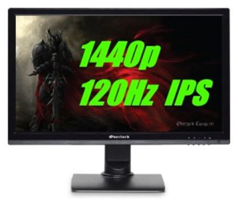 best 120hz monitor 120hz 1440p ips overclockable monitors blur busters