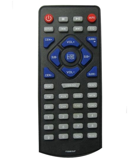 r shop home theatre remote quot compatible with quot intex home