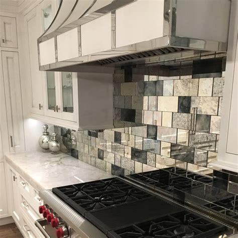 mirror tile backsplash kitchen best 25 mirror tiles ideas on bars