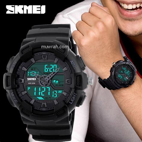 jual jam tangan pria outdoor anti air casio  shock qnq