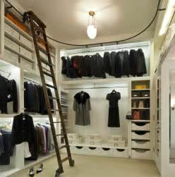 closet ladders wood interior fascinating picture of modern white walk in