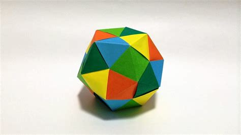 modular origami dodecahedron dodecahedron modular origami tutorial 正十二面体を折ってみた ユニット折り紙