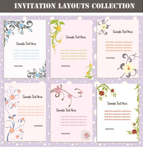 layout design of invitation 40th birthday ideas birthday invitation layout free download
