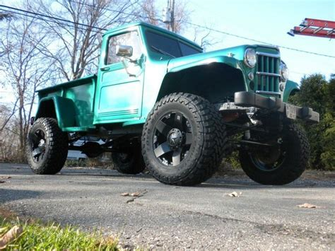 jeep willys lifted image gallery lifted jeep truck