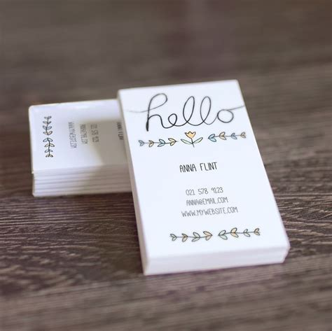 Business Card Text Template by Diy Printable Calling Card Business Card Template Just