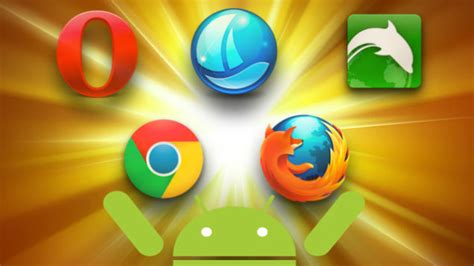 android browsers five best android web browsers