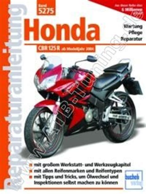 Motorrad Tuning Honda Cbr 125 R by Honda Motorrad Cbr 125 R Reparaturanleitung Vergaser