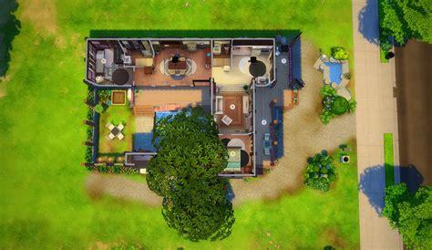 hanok house floor plan mod the sims hanok house no cc