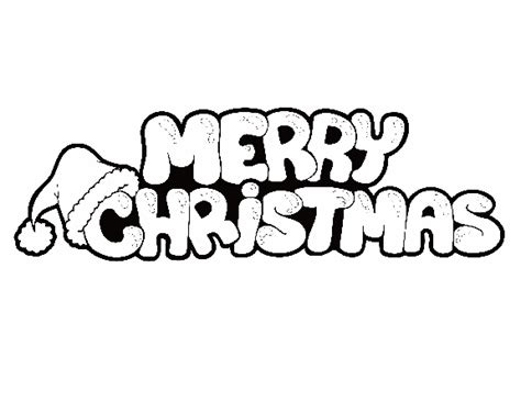 Merry Christmas Coloring Pages Merry Christmas Sign Gif Merry Words Coloring Pages