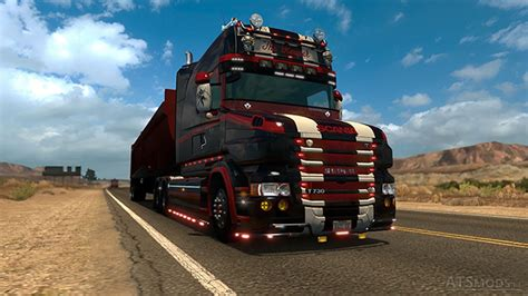 Home Interiors Usa scania rjl t 1 8 ats port by solutech american truck